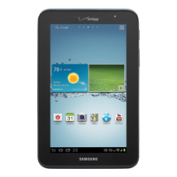 Samsung Galaxy Tab 2 7.0 8GB 3G 4G Nero tablet