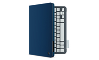 "Logitech Keyboard Folio mini 9.7"" Custodia a libro Blu"