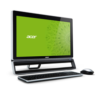 "Acer Aspire S600-012 2.9GHz G2020 23"" 1920 x 1080Pixel Nero, Argento PC All-in-one"