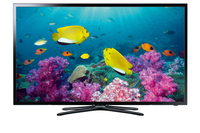 "Samsung UE32F5570SS 32"" Full HD Smart TV Wi-Fi Nero, Argento LED TV"