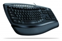 Logitech Comfort Wave 450, UK USB Nero tastiera