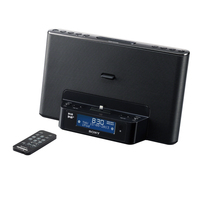 Sony XDR-DS16iPN 7W Nero docking station con altoparlanti