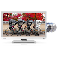 "Toshiba 24D1334G 24"" Full HD Bianco LED TV"