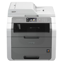 Brother DCP-9020CDW 2400 x 600DPI LED A4 18ppm Wi-Fi Nero, Bianco multifunzione