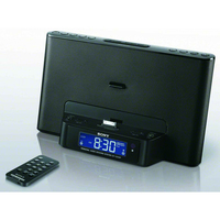 Sony ICF-DS15iP Nero docking station con altoparlanti