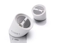 Conceptronic USB Portable Stereo Tube Speakers altoparlante