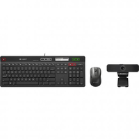 Logitech UC Solution USB AZERTY Francese Nero tastiera