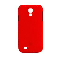 V7 Metro Anti-Slip Galaxy S4 Cover Rosso