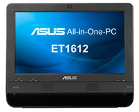 "ASUS ET 1612IUTS-B001M 1.1GHz 847 15.6"" 1366 x 768Pixel Touch screen Nero PC All-in-one"