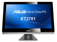 "ASUS ET ET2701INTI-B087K 3.1GHz i7-3770S 27"" 1920 x 1080Pixel Touch screen Nero, Argento PC All-in-one All-in-One PC"