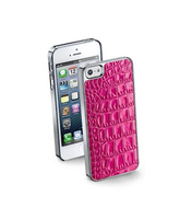 Cellularline ANIMALIERIPHONE52 Cover Rosa custodia per cellulare