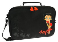 "Cellularline Betty Boop 11"" Custodia a tasca Nero"