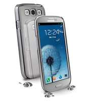 Cellularline Chrome Cover Argento