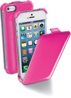 Cellularline Flap Fluo Custodia a libro Rosa
