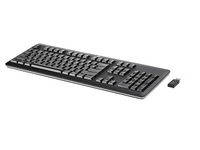 HP 701426-DD1 RF Wireless QWERTY Nero tastiera