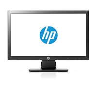 "HP ProDisplay P201 20"" Nero monitor piatto per PC"