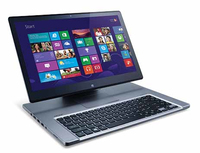 "Acer Aspire 571G-53338G75ass 1.8GHz i5-3337U 15.6"" 1920 x 1080Pixel Touch screen Argento Ibrido (2 in 1)"