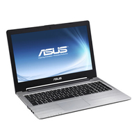 "ASUS S56CB-XO178H 2GHz i7-3537U 15.6"" 1366 x 768Pixel Touch screen Nero, Argento Computer portatile"