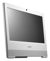 "Shuttle XPC X 5031TA 1.86GHz D2550 15.6"" 1366 x 768Pixel Touch screen Bianco PC All-in-one"