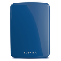 Toshiba Canvio Connect 1TB 1000GB Blu disco rigido esterno