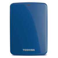 Toshiba Canvio Connect 2TB 2000GB Blu disco rigido esterno