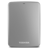 Toshiba Canvio Connect 2TB 2000GB Argento disco rigido esterno