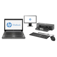 HP EliteBook 8570w Mobile Workstation Bundle