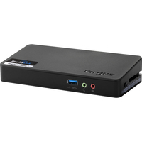 Targus ACP076US USB 3.0 (3.1 Gen 1) Type-A Nero replicatore di porte e docking station per notebook