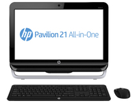 "HP Pavilion 21-a255in 3.4GHz i3-3240 21.5"" 1920 x 1080Pixel Nero PC All-in-one"