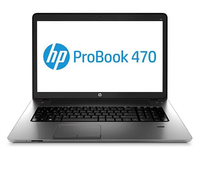 "HP ProBook NOTEBOOK BUNDEL (H0V07EA+E8E88AA) 470 Core i5-3230 + MS Office Home and Business 2013 2.6GHz i5-3230M 17.3"" 1600 x 900Pixel Argento Computer portatile"