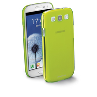 Cellularline COOLGALAXYS3L Cover Verde custodia per cellulare