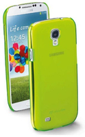 Cellularline COOLGALAXYS4L Cover Verde custodia per cellulare