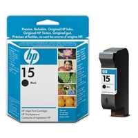 HP 15 Light-use Black Inkjet Print Cartridge Nero cartuccia d
