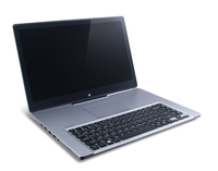 "Acer Aspire 571-53334G50ass 1.8GHz i5-3337U 15.6"" 1920 x 1080Pixel Touch screen Argento Ibrido (2 in 1)"