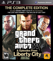 Sony Grand Theft Auto IV Complete Edition, PlayStation 3 PlayStation 3 ITA videogioco