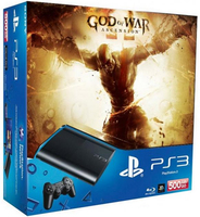 Sony 500GB PlayStation 3 + God of War: Ascension 500GB Wi-Fi Nero