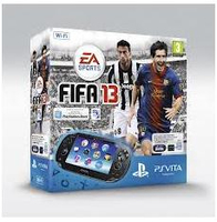 "Sony PS Vita WiFi + 4GB + FIFA 13 5"" Touch screen Wi-Fi Nero console da gioco portatile"