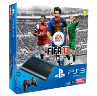 Sony 500GB PlayStation 3 + Fifa 13 500GB Wi-Fi Nero