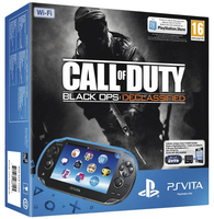 "Sony PS Vita WiFi + 4GB + COD: Black OPS Declassified 5"" Touch screen Wi-Fi Nero console da gioco portatile"