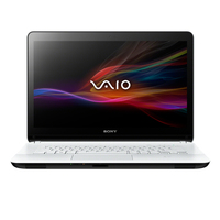 "Sony VAIO SVF1521A2E 1.5GHz 987 15.5"" 1366 x 768Pixel Touch screen Bianco Computer portatile"