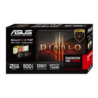 ASUS 90-C1CS52-S0UAY0BZ Radeon HD7870 2GB GDDR5 scheda video