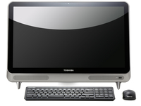 "Toshiba LX830-01P 2.5GHz i3-3120M 23"" 1920 x 1080Pixel Touch screen Argento PC All-in-one"