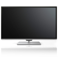 "Toshiba 50L7335 50"" Full HD Compatibilità 3D Smart TV Wi-Fi Nero, Argento LED TV"