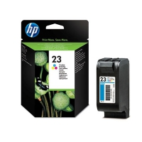 HP 23 Large Tri-color Inkjet Print Cartridge Ciano, Giallo cartuccia d