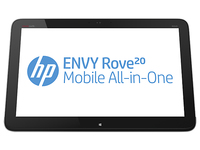 "HP ENVY Rove 20-k000eb 1.7GHz i3-4010U 20"" 1600 x 900Pixel Touch screen Nero, Argento PC All-in-one"