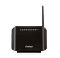 D-Link GO-DSL-N150/E Fast Ethernet Nero router wireless