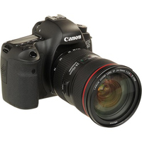 Canon EOS 6D EF 24-70mm f/4L IS USM Kit fotocamere SLR 20.2MP CMOS 5472 x 3648Pixel Nero