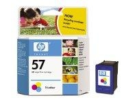 HP 57 Tri-colour Inkjet Print Cartridge Ciano, Giallo cartuccia d