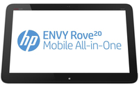 "HP ENVY Rove 20-k000ef 1.7GHz i3-4010U 20"" 1600 x 900Pixel Touch screen Nero, Argento PC All-in-one"