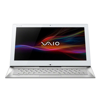 "Sony VAIO Duo 13 1.6GHz i5-4200U 13.3"" 1920 x 1080Pixel Touch screen 3G Bianco Computer portatile"